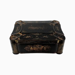 Napoleon III period Travel Box, Mid 19th Century