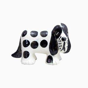 Perro de cerámica de Lisa Larson para Gustavsberg