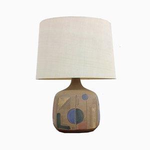 Große Tischlampe von Claire Pliers, 1960er