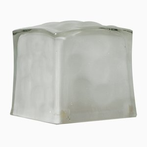 Glass Ice Cube Table Lamp from IKEA, 1990s