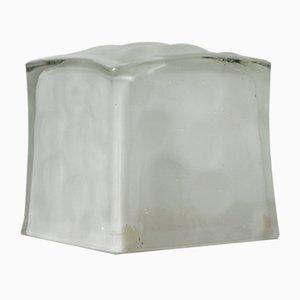 Lampe de Bureau Ice Cube en Verre de IKEA, 1990s