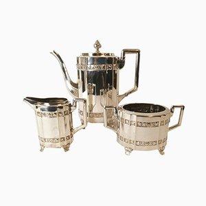Kaffeeservice, 20. Jh. Von Cg Hallberg, 3er Set