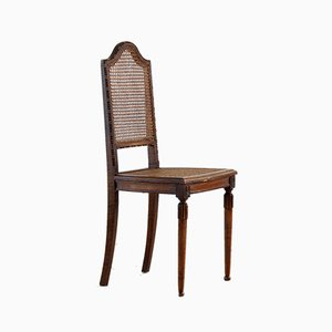 Caned Dining Chairs, Set of 6