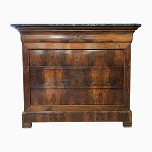 Louis Philippe Lady's Chest of Drawers in Burr Walnut