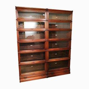 Mahogany Globe Wernicke Bookcase