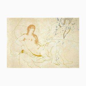 Orem Galliani, Daphni, Siebdruck auf Leinwand