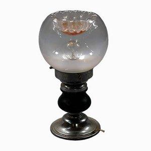 Vintage Murano Glas Tischlampe von Toni Zuccheri für Mazzega, Italien, 1960er