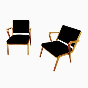 Chaises par Selman Selmanagic pour Veb Deutsche Werkstätten Hellerau, 1950s, Set de 2