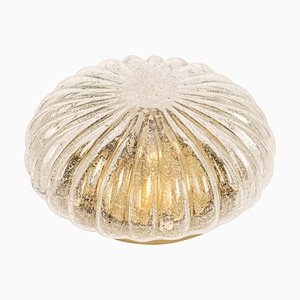 Large Wall Sconce or Flush Mount from Doria, Germany, 1970s