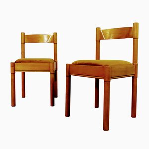Sedie da pranzo di Vico Magistretti, anni '60, set di 6