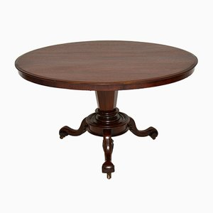 Early Victorian Tilt Top Table