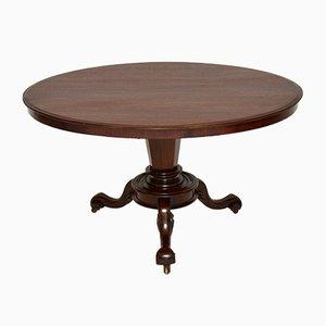 Frühviktorianischer Tisch mit kippbarer Tischplatte