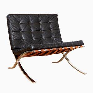 Spanischer Modell MR90 Sessel von Ludwig Mies Van Der Rohe für Knoll Inc. / Knoll International