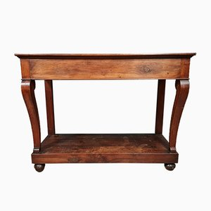 Consola de comedor de caoba, década de 1820