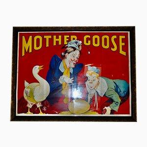 Poster vintage incorniciato di Albert Taylor