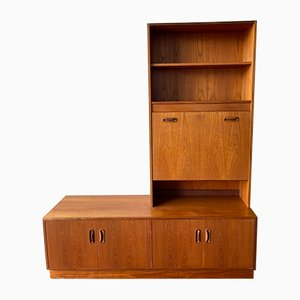 Aparador vintage con alacenas y mueble bar de G-Plan