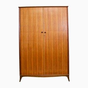 Teak & Walnut Wardrobe from Vesper, 1960s