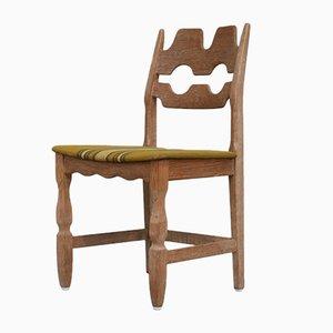 Mid-Century Danish Oak Dining Chairs by Henning Kjaernulf, Set of 6