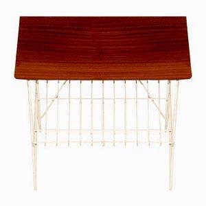 Stringbord Table in Mahogany, Sweden, 1950
