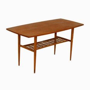 Teak Coffee Table from Alberts Tibro, Sweden, 1950