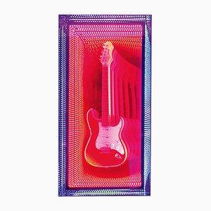 Miroir Mural Guitar Infinity par Raphael Fenice