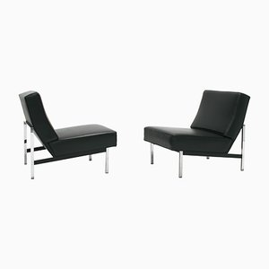 Model 51 Parallel Bar Slipper Chairs by Florence Knoll for Knoll International, 1960s, Set of 2