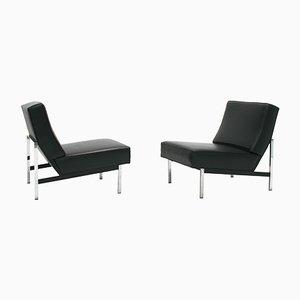 Modell 51 Parallel Bar Slipper Stühle von Florence Knoll für Knoll International, 1960er, 2er Set