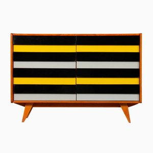 Yellow and Black Model U-453 Dresser by Jiri Jiroutek for Interier Praha, 1960s