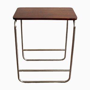 Bauhaus Style Side Table from Kovona Czechoslovakia