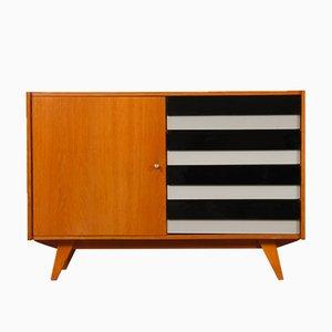 Vintage Oak Model U458 Dresser by Jiri Jiroutek for Interier Praha, 1960s