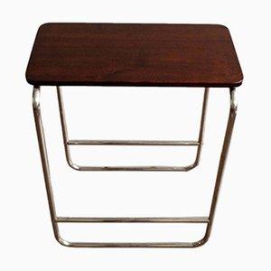 Bauhaus Style Side Table from Kovona Czechoslovakia, 1970s