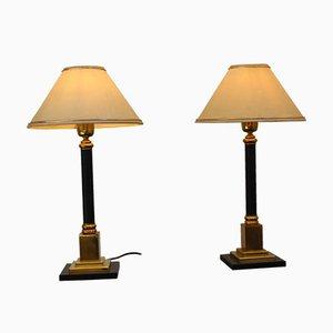 Tischlampen, Italien, 1970er, 2er Set