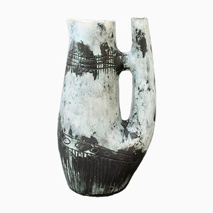Mid-Century French Ceramic Vase by Jacques Blin, 1950s