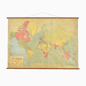 Grande Carte Murale du Monde de Philips