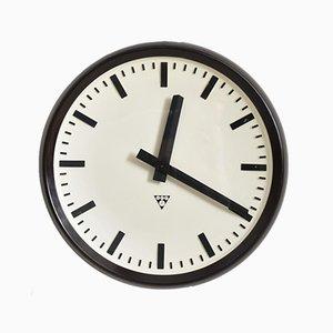 Large Round Bakelite Clock from Pragotron