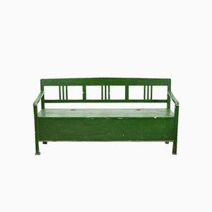 Ungarische Waldgrüne Sitzbank