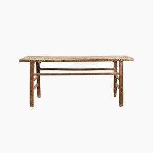 Table Console Rustique en Orme