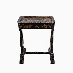 19. Jahrhundert Chinoiserie dekoriert Beistelltisch oder Tablett