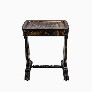 19th Century Chinoiserie Decorated Side or Tray Table