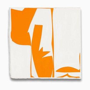 Joanne Freeman, Covers 13 Orange, 2014, Guazzo e carta fatta a mano