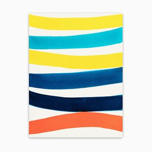 Kim Uchiyama, Pulse, 2018, Acuarela sobre papel Arches