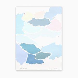 Kyong Lee, Not Yet 004, 2018, Bleistift und Acryl auf Canson-Montval Papier