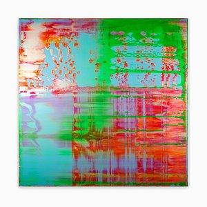 Danny Giesbers, Vincent Van Gogh, 2020, acrilico, resina e fosforescenza su tavola di legno