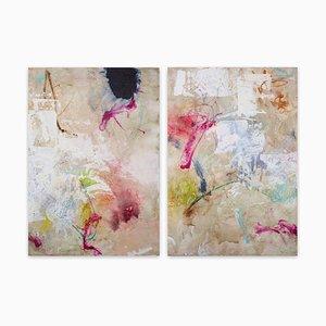 Carolina Alotus, Friday Harmony, 2021, Acrylic & Mixed Media on Canvas