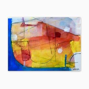 Xanda McCagg, 6 Rv, 2020, Watercolor on Paper
