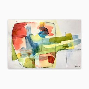 Xanda McCagg, 8 Rv, 2020, Watercolor on Paper