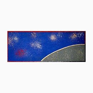 Fontanas, Eclats nocturnes, 2021, Acrilico su tela