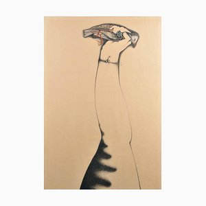 Alfred Hofkunst (1942-2004), Armstrong, 1968, Framed