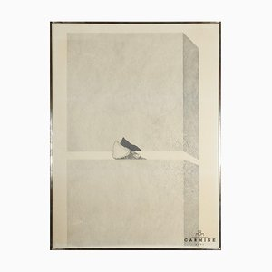Alfred Hofkunst, Sandwich, Wood Clamped, 1968, Enmarcado