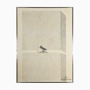 Alfred Hofkunst, Sandwich, Wood Clamped, 1968, Framed